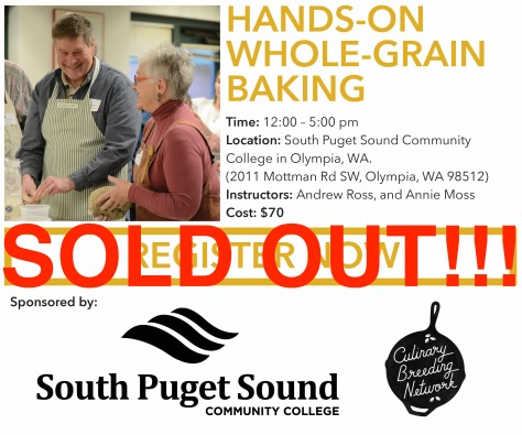 CGC Field Trip BAKING Sold Out